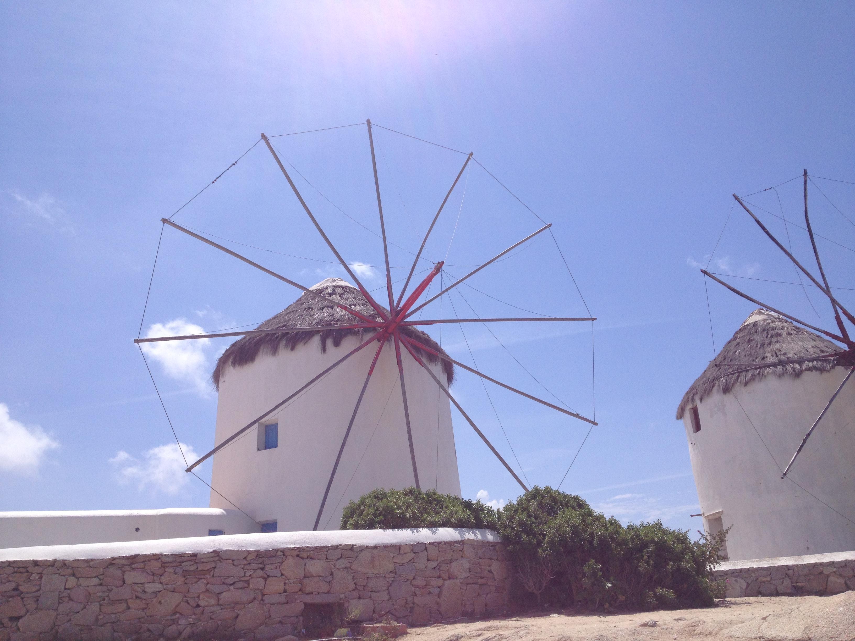 Mykonos town, Windmills | Karoliina Kazi